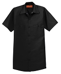 Service  Short Sleeve Industrial Work Shirt